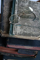 books glasses