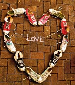 shoe hearts